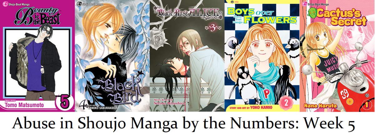 Abusive Relationships in Shoujo Manga by the Number: Week 4