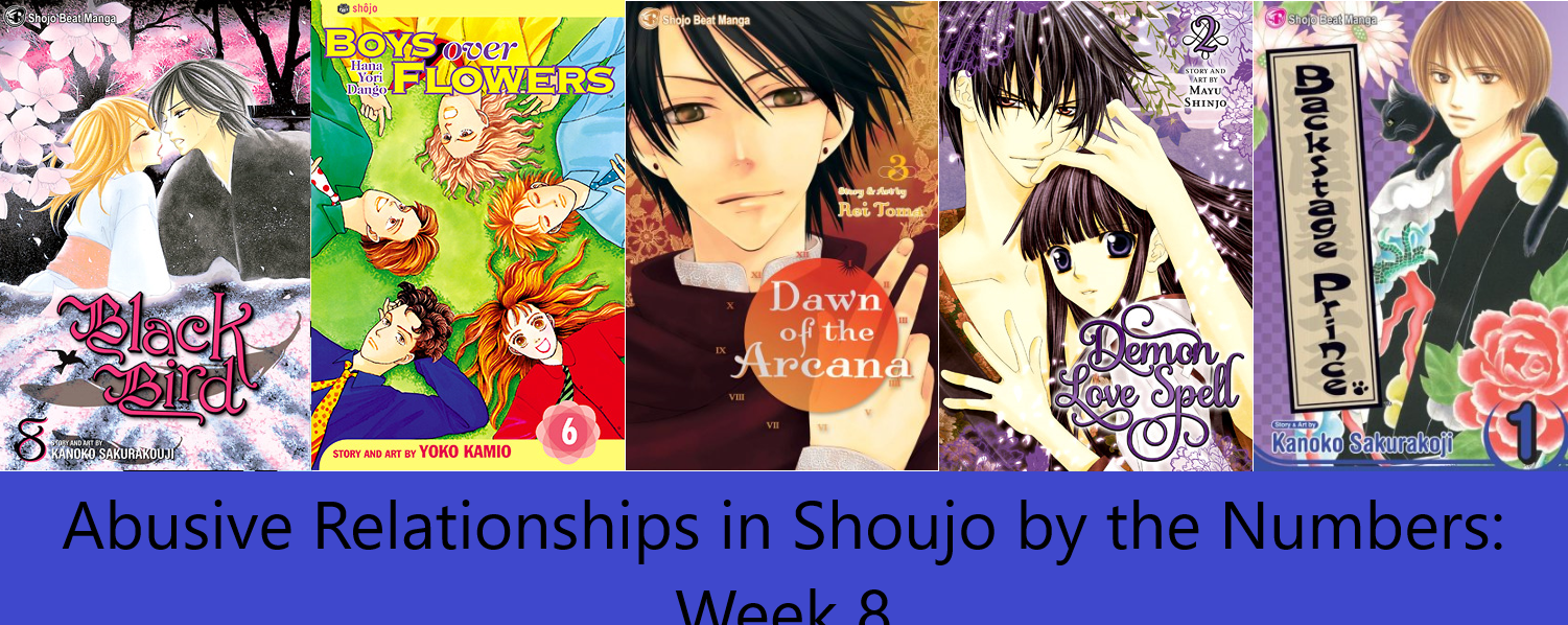 Abuse in Shoujo by the Numbers: Week 8 – I Have a Heroine Problem